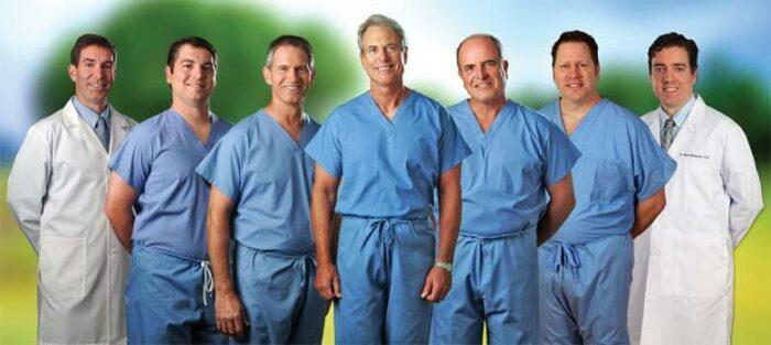 Group image of ECA doctors