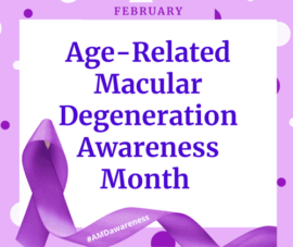 Age-Related Macular Degeneration Awareness Month