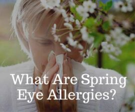 What Are Spring Eye Allergies