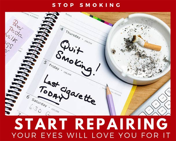 Stop smoking for better eye health